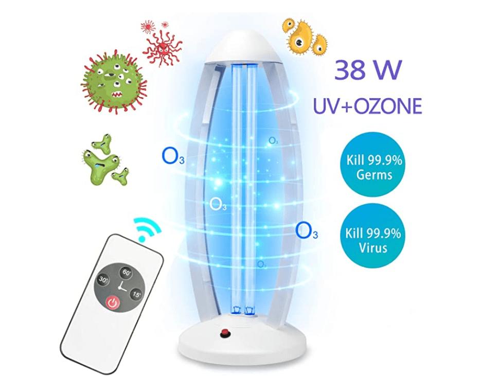 uv ion lamp